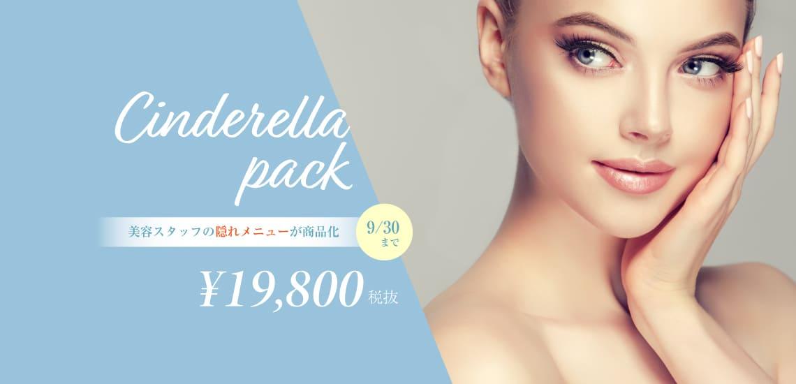 CINDERELLAPACK シンデレラパック 美容スタッフの隠れメニュー¥198000