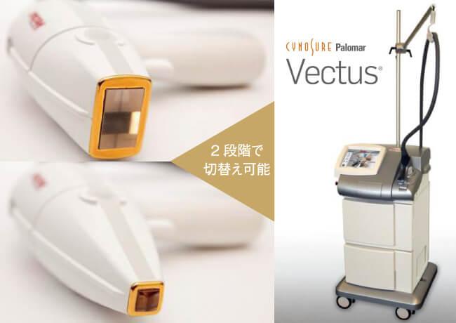 ミセルクリニックで使用する光治療機器「Vectus(ベクタス)」