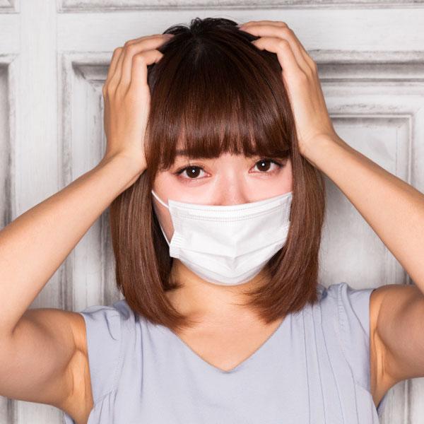 コロナ禍の肌荒れ?今年の春はマスクジミに要注意